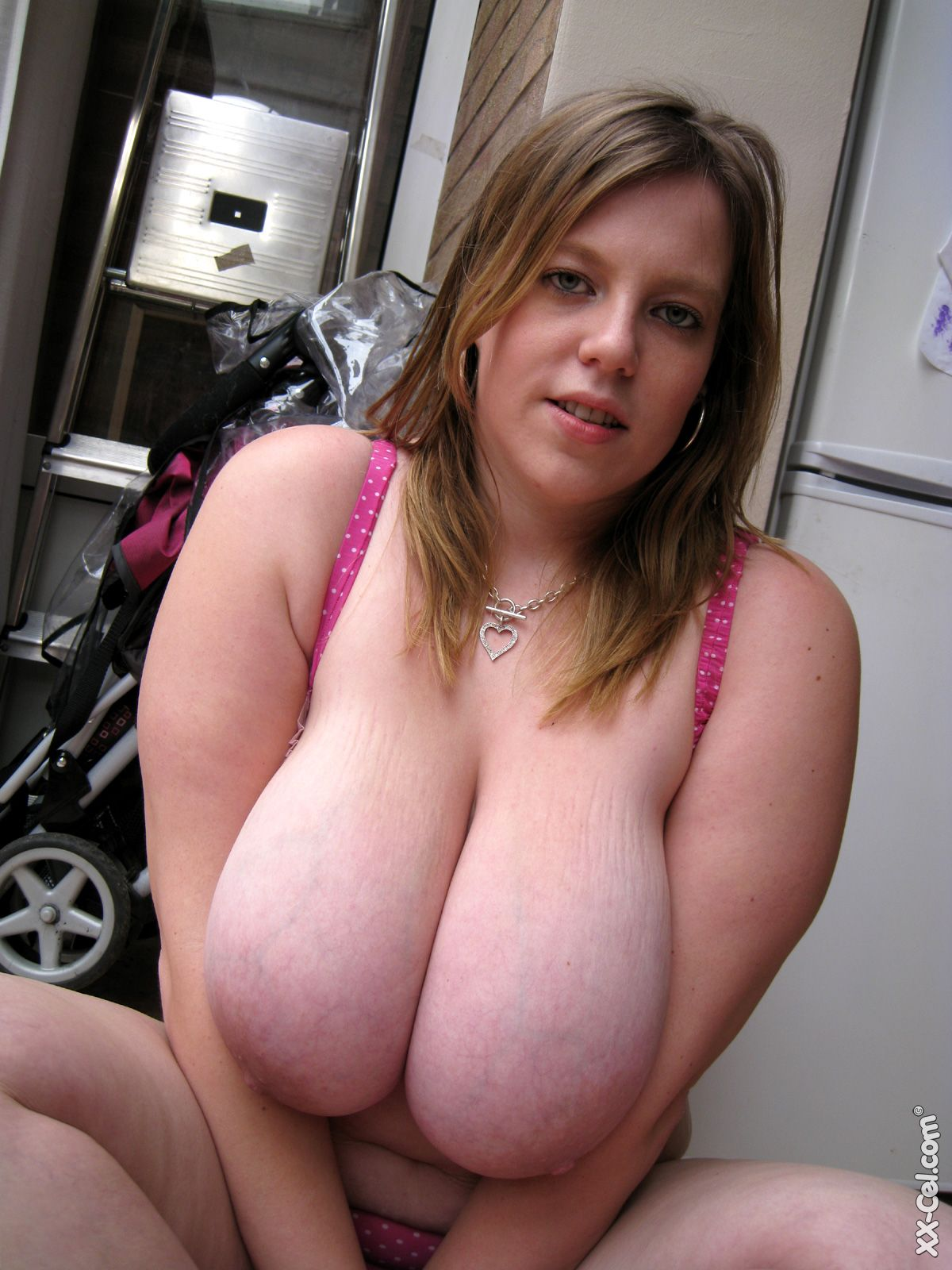 Enormous heavy tits all on a fairly slim frame wow 5